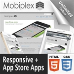 Mobiplex // Responsive // App Store Apps // Bootstrap 3 // Unlimited Colors