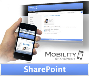 Mobility Blue (Enterprise License) SharePoint Masterpage and Theme