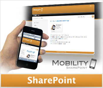 Mobility Orange (Enterprise License) SharePoint Masterpage and Theme