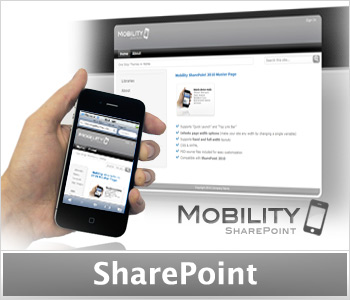 Mobility Silver (Enterprise License) SharePoint Masterpage and Theme